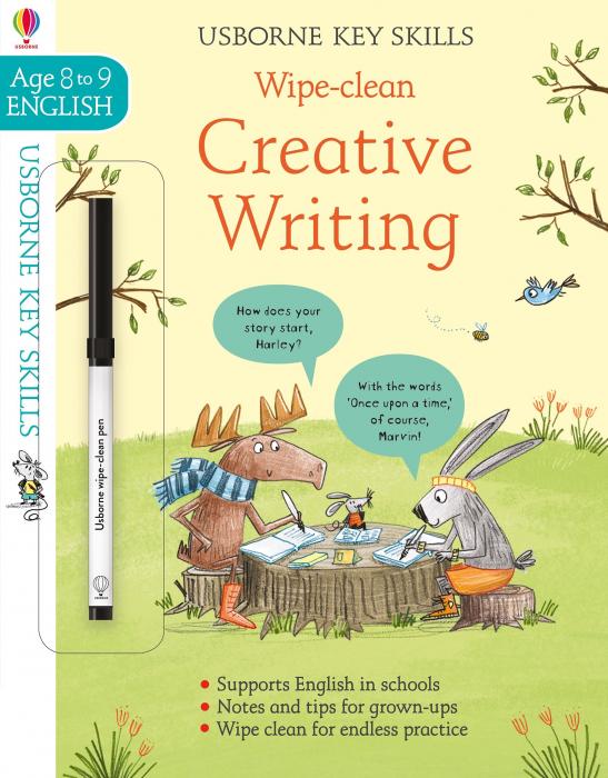 Wipe-Clean Creative Writing 8-9 [0]