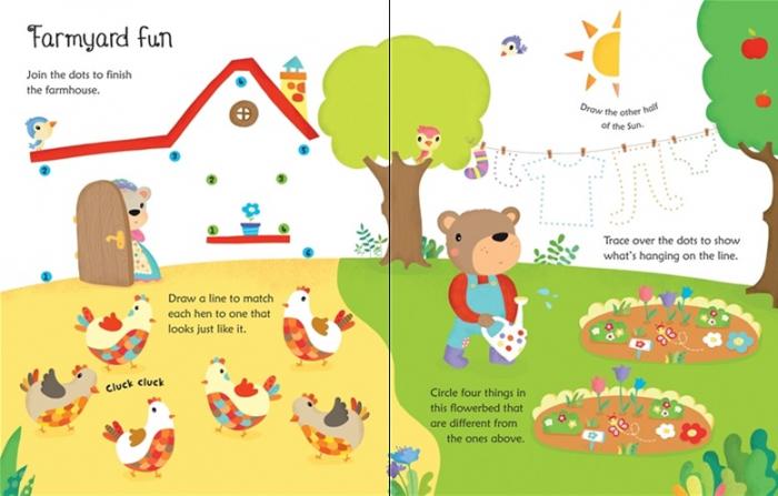Wipe-clean farm activities [3]