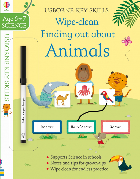 Wipe-Clean Finding Out About Animals 6-7 [0]
