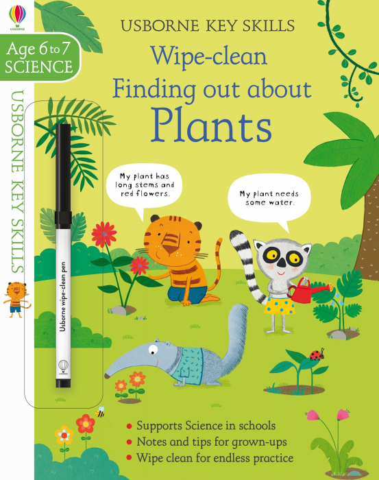 Wipe-Clean Finding Out About Plants 6-7 [0]