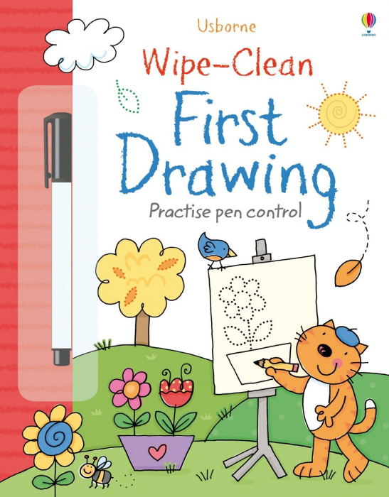 Wipe-clean first drawing [0]