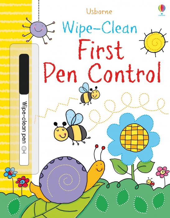 Wipe-clean first pen control [0]