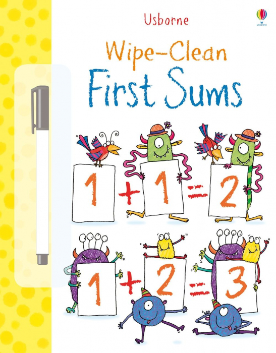 Wipe-clean first sums [0]