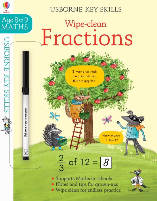 Wipe-Clean Fractions 8-9 [0]