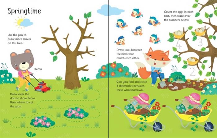 Wipe-clean garden activities [3]