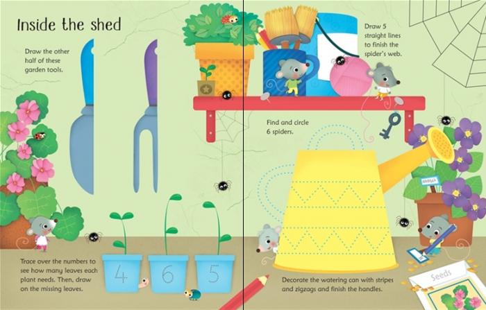 Wipe-clean garden activities [2]