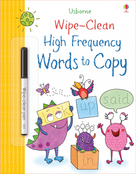 Wipe-clean high-frequency words to copy [0]
