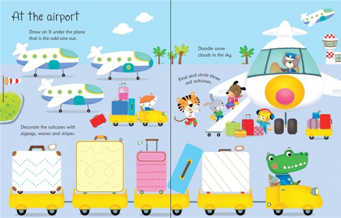 Wipe-clean holiday activities [2]