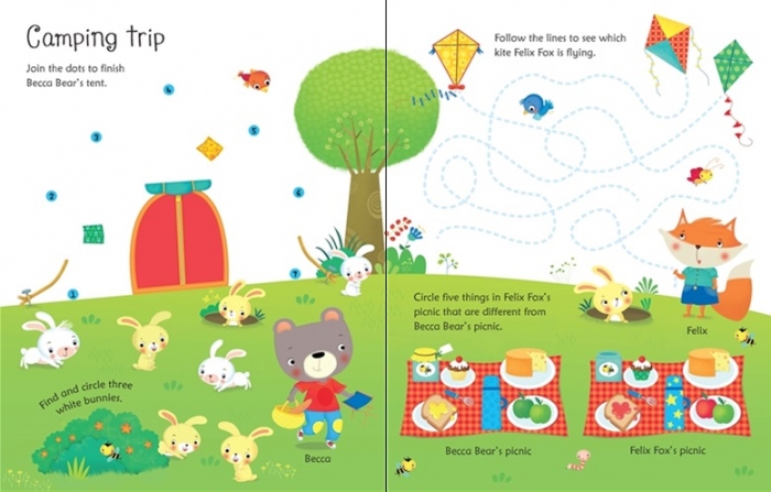 Wipe-clean holiday activities [1]