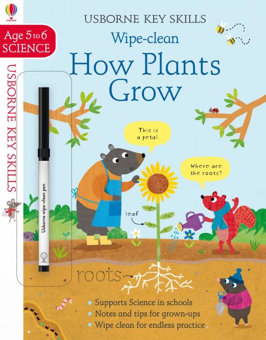 Wipe-Clean How Plants Grow 5-6 [0]