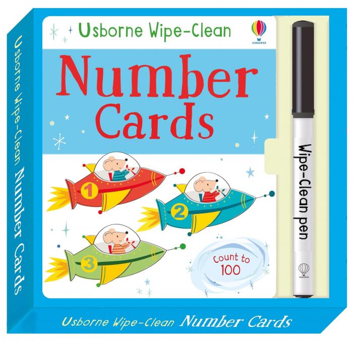 Wipe-clean number cards [0]