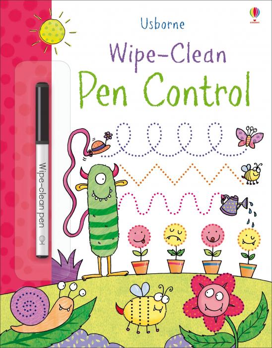 Wipe-clean pen control [0]