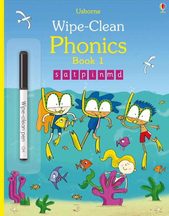 Wipe-clean phonics book 1 [0]