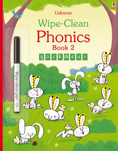 Wipe-clean phonics book 2 [0]