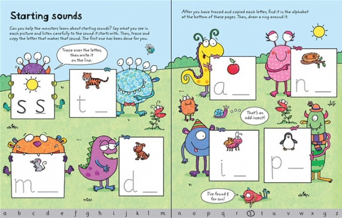 Wipe-clean ready for reading phonics [3]