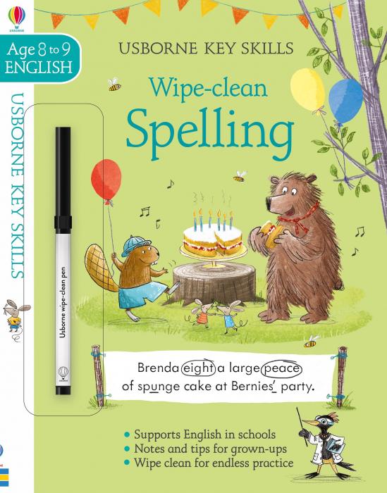 Wipe-Clean Spelling 8-9 [0]