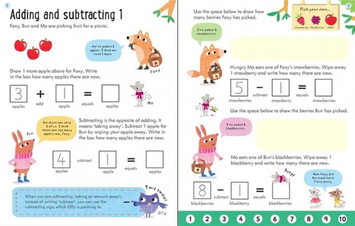 Wipe-clean subtracting 5-6 [3]