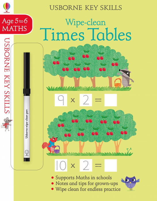 Wipe-clean times tables 5-6 [0]