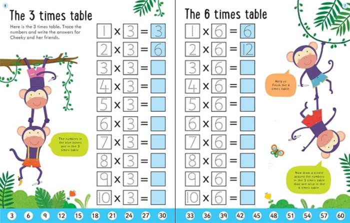 Wipe-clean times tables 6-7 [1]