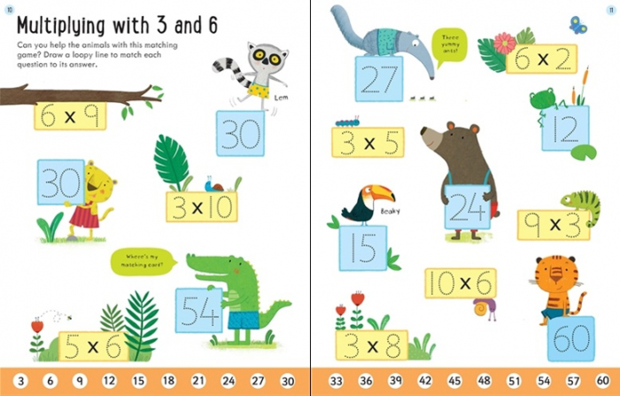 Wipe-clean times tables 6-7 [2]