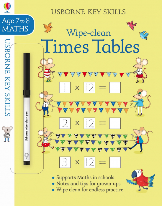 Wipe-clean times tables 7-8 [0]