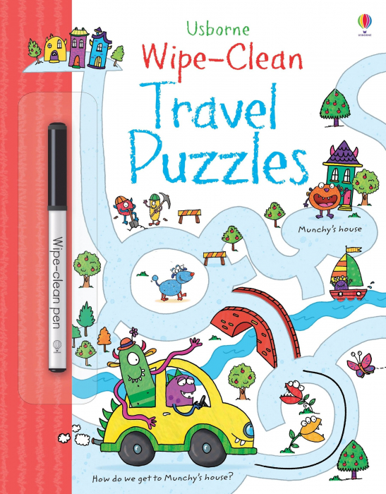Wipe-clean travel puzzles [0]