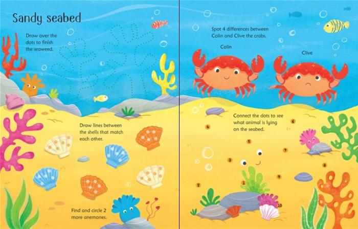 Wipe-clean under the sea activities [3]