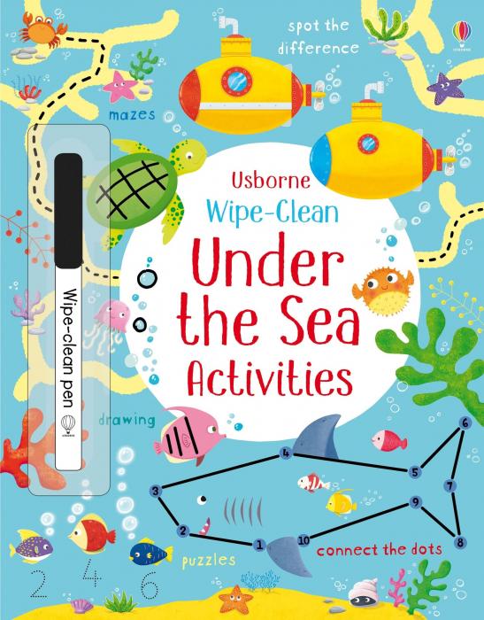Wipe-clean under the sea activities [0]