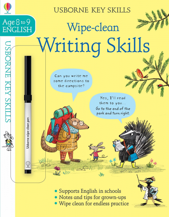 Wipe-clean writing skills 8-9 [0]