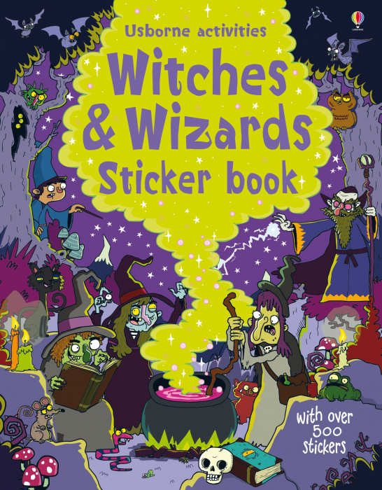 Witches and wizards sticker book [0]