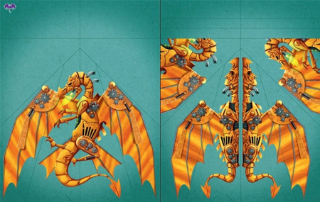 100 paper dragons to fold and fly [2]