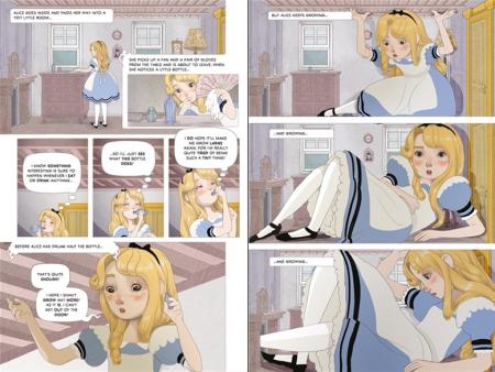 Alice in Wonderland graphic novel [2]