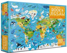 Animals of the world Book and Jigsaw [0]