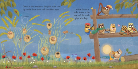 Baby's bedtime music book [3]