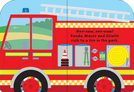 Baby's very first fire engine book [1]