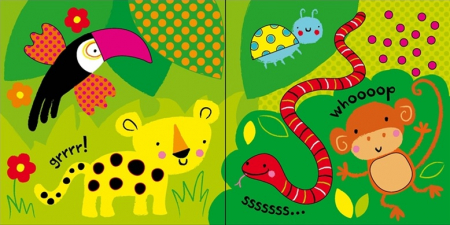 Baby's very first touchy-feely animals play book [3]