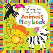 Baby's very first touchy-feely animals play book [0]