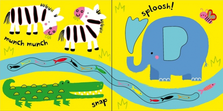 Baby's very first touchy-feely animals play book [1]