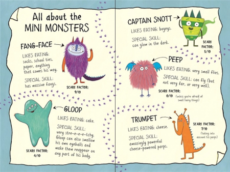 Billy and the Mini Monsters :Monsters in the Dark [3]