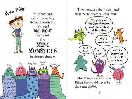 Billy and the Mini Monsters . Monsters on the Loose [1]