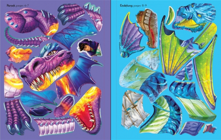 Build your own dragons sticker book [2]