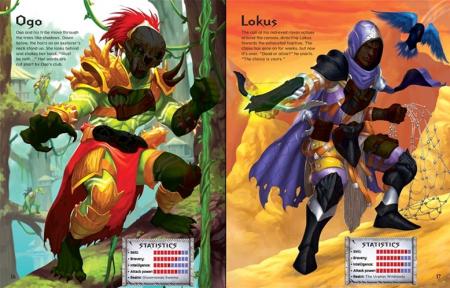 Build your own fantasy warriors sticker book [1]