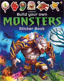 Build your own monsters sticker book [0]