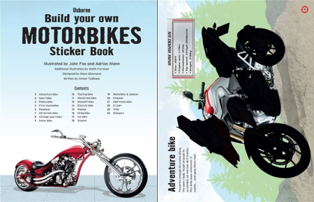 Build your own motorbikes sticker book [1]