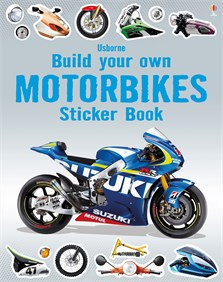 Build your own motorbikes sticker book [0]