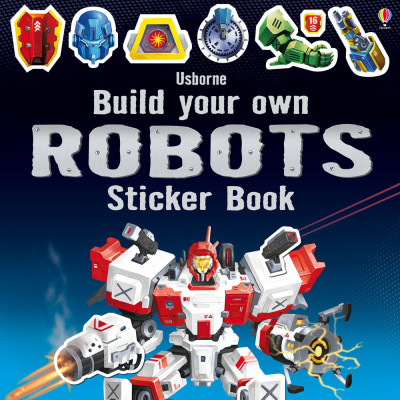 Build your own robots sticker book [0]