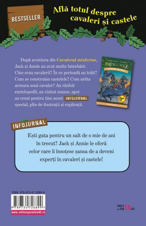 """Cavaleri și castele. Infojurnal (însoțește volumul 2 din seria Portalul magic: """"Cavalerul misterios"""") [1]"""