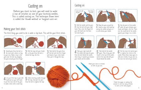 Children's knitting kit [2]