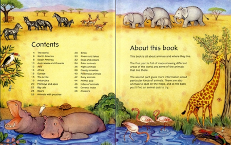 Children's picture atlas of animals [1]