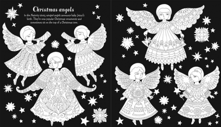 Christmas patterns to colour [2]